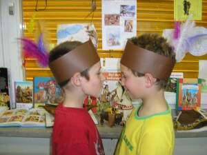 Jungen Kopfschmuck II