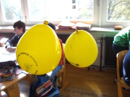 Luftballon im Streit