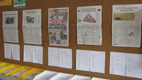 Zeitung - Vergleich