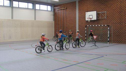 Fahrradprüfung praktisch