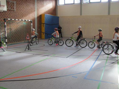 Gruppenfahrt Fahrradprüfung